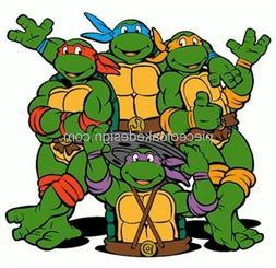 1/4 Sheet ~ 90s Teenage Mutant Ninja Turtles Cartoon Birthda