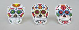 12 Dia De Muertos Day of the Dead Skeleton Cup Cake Rings To