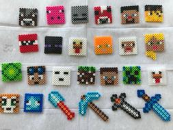 🥳 12 Pcs Minecraft Kids Birthday Party favors Boys Decora