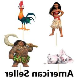 12 Pieces Cupcake Topper Cake Picks MOANA