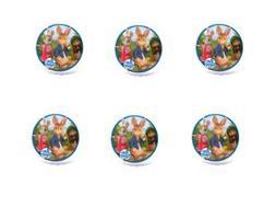 12ct Peter Rabbit Edible 3inch Large Cupcake/Cookie Image Ki