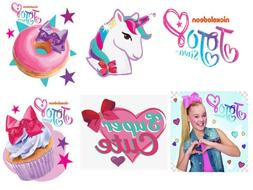Large 12pc Jojo Siwa Birthday Cake Toppers Birthday Party Cu