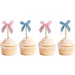 12pcs <font><b>Bow</b></font> Wedding <font><b>Cupcake</b></