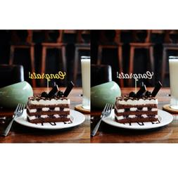 20pcs Congrats Cake Toppers Congratulations Graduation Party