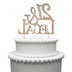 21 Legal Cake Topper for 21 Years Birthday Or 21ST Wedding A