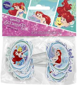 Wilton 21135660 Disney Princess Little Mermaid 24 Count Arie