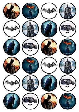 24 batman edible thickness sweetened