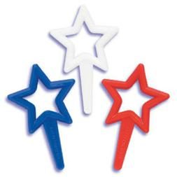 24 Fourth of July Silhouette Cupcake Picks Cake Toppers Patr
