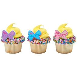 24 JoJo Jo Jo Siwa Party Cupcake Rings Toppers Free Shipping