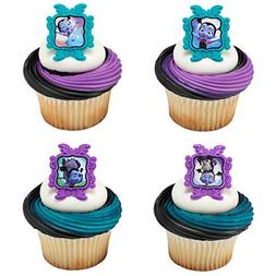 24 Vampirina Cupcake Rings Toppers Birthday Party