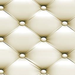 Ecurson 3D Vintage Leather Textured Wallpaper PVC Mural Real