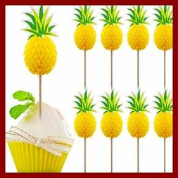40 PC Cupcake Toppers Cocktail Picks Cake Decoration For Lua
