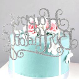 4colors cake topper happy birthday party supplies