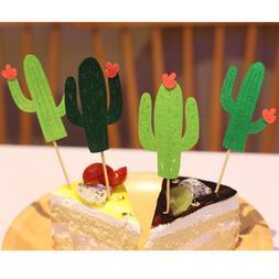 6pcs New <font><b>Cactus</b></font> <font><b>Cupcake</b></fo