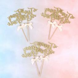 6pcs team bride cake cupcake toppers bachelorette hen party