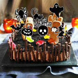 72pcs/set Festival Halloween Cake Decorations Cake Topper De