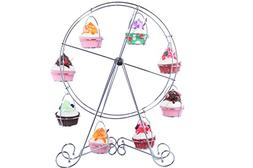 Ferris Wheel Cupcake Stand - Metal Wire Frame - Dessert Carr