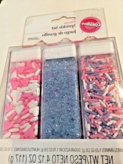 Wilton 710-1085 Sprinkle Set, 4.12-Ounce