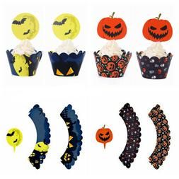 Accessory Sticks Party Supplies Cupcake Wrappers Halloween D