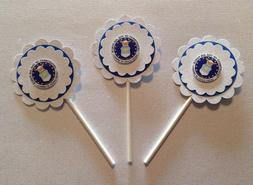 Air Force Cupcake Toppers Birthday Anniversary Induction Par
