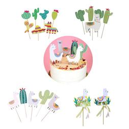 animal alpaca party cake font b toppers