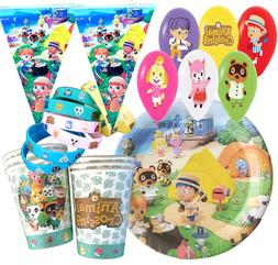 ANIMAL CROSSING cupcake toppers Banner Party Decoration CAKE