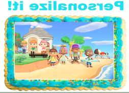 Animal Crossing  Personalized Edible Cake Cupcake Image Fros