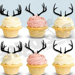 Antlers Cupcake Toppers