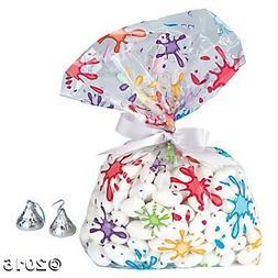 Fun Express Artist Party Cellophane Bags
