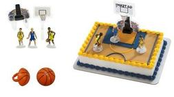 Basketball Players Cake Topper PLUS 12 - 3D Basketball Cupca