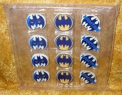 Batman,Dark Knight Set, Edible Sugar Cupcake Toppers,DecoPac