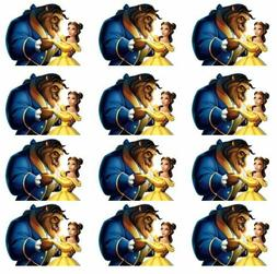 Beauty and the Beast Cupcake Toppers Edible Image Beast Cake