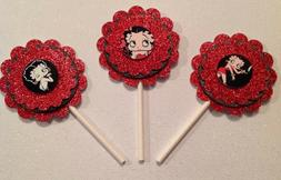 Betty Boop Cupcake Toppers Birthday Anniversary Party Suppli