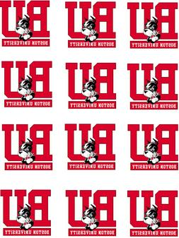 "Boston University Cupcake Toppers Edible Image 2"" Frosting C"