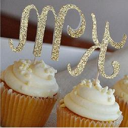 cake <font><b>toppers</b></font> paper banner glitter letter