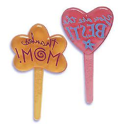 Cake Toppers Happy Mother's Day Cupcake Picks One Dozen Than