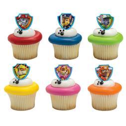 Cake Toppers PAW Patrol Cupcake Rings One Dozen