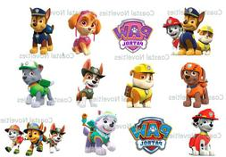Cake Toppers Paw Patrol Cupcake Toppers Edible High Quality