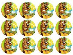 Cake Toppers Scooby Doo Cupcake Toppers Edible Image