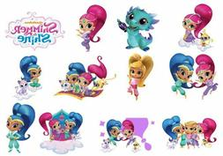 Cake Toppers Shimmer and Shine Cupcake Toppers Edible Image