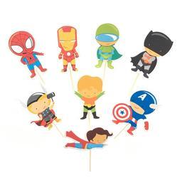 Cartoon Avengers Superhero Party <font><b>Supplies</b></font