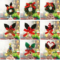 Christmas Cupcake Toppers Picks Dessert Topper Decor For Xma