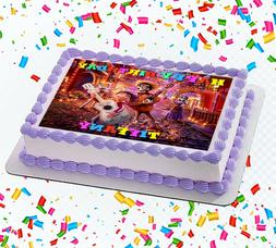 Coco Movie Edible Icing Image Cake or Cupcake Topper Party D