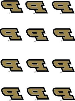 college purdue boilermakers cupcake toppers edible image