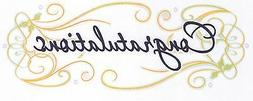 Congratulations Graduation ~ Sheet Cake Topper ~ Edible ~ D3