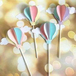 creative fairy 3d hot air balloon cake