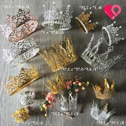 Crown Cake Topper Queen Princess Wedding Party Rose Gold Sil