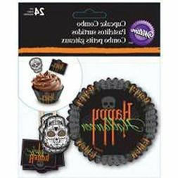 Wilton Cupcake Combo Pack Day of the Dead Halloween Deadly S