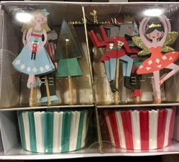 cupcake kit the nutcracker liners and toppers