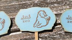 Cupcake Toppers Eeyore Winnie the Pooh Baby Shower Its a Boy